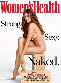 София Вергара разделась для Women's Health фото #1