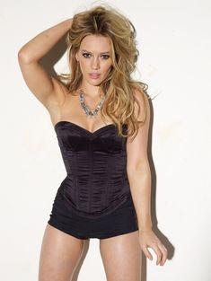 Хилари Дафф в сексуальном белье для Maxim фото #3