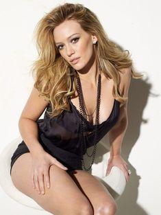 Хилари Дафф в сексуальном белье для Maxim фото #4