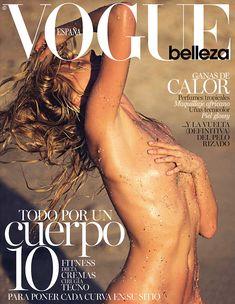 Эльза Хоск разделась догола для журнала Vogue Spain фото #1