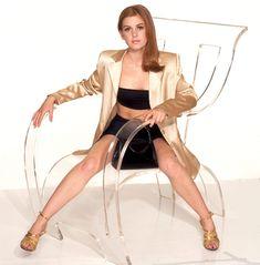 Пикантный образ Айлы Фишер для фотосессии фото #2