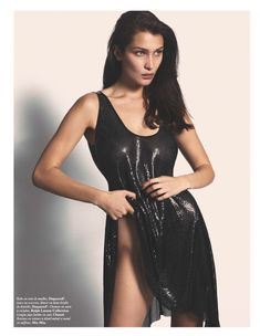 Белла Хадид снялась без одежды для французского Vogue фото #4