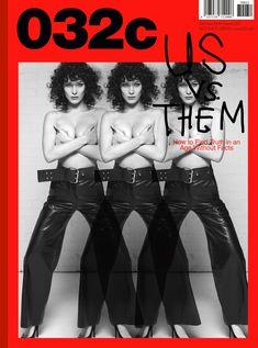 Белла Хадид немного обнажилась для журнала 032c фото #1