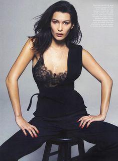 Эро фотосессия Беллы Хадид для Elle фото #2