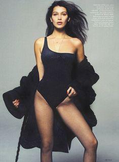 Эро фотосессия Беллы Хадид для Elle фото #4