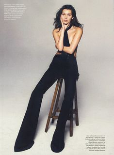 Эро фотосессия Беллы Хадид для Elle фото #5