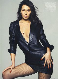Эро фотосессия Беллы Хадид для Elle фото #6