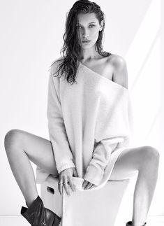 Сексуальная Белла Хадид на фото для журнала Flare фото #1