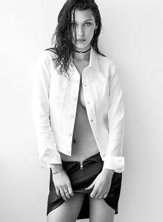 Сексуальная Белла Хадид на фото для журнала Flare фото #4