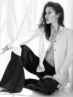 Сексуальная Белла Хадид на фото для журнала Flare фото #5