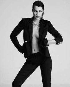 Эротические фото Беллы Хадид для испанского журнала  Harper's Bazaar фото #4