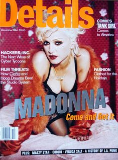 Горячая фотосессия Мадонны для журнала Details фото #1