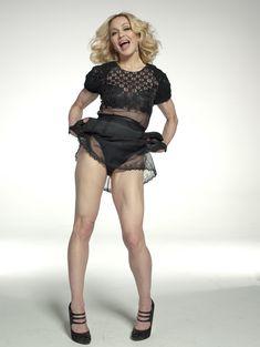 Мадонна позирует в откровенном наряде для журнала W фото #3