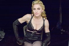 Мадонна позирует в откровенном наряде для журнала W фото #11