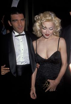 Мадонна в платье с открытым декольте на Tribute to Andrew Lloyd Weber фото #6