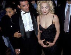Мадонна в платье с открытым декольте на Tribute to Andrew Lloyd Weber фото #7
