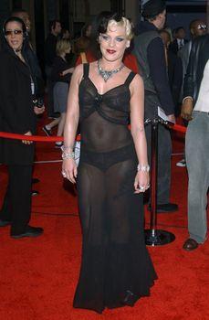 Пинк в прозрачном платье на Annual American Music Awards фото #2