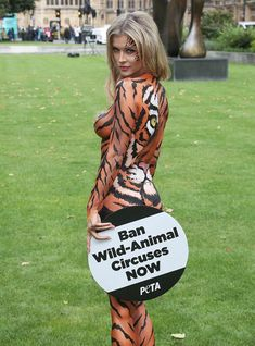 Сексуальная тигрица Джоанна Крупа фото #2