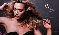 Глубокое декольте Кэйт Уинслет в Harper's Bazaar фото #5