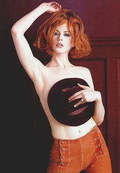 Николь Кидман в сексуальных нарядах на фотографиях от Герба Ритца фото #1
