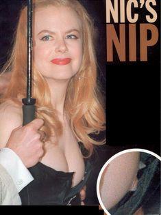 Николь Кидман засветила возбуждающую грудь в шикарном платье фото #1