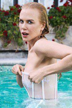 Сексуальная Николь Кидман взмокла на страницах журнала Stellar фото #1