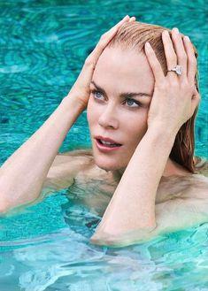 Сексуальная Николь Кидман взмокла на страницах журнала Stellar фото #3