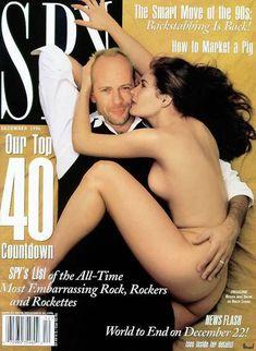 Деми Мур снялась голой для журнала Spy фото #1