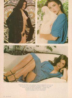 Обнажённая Деми Мур позирует для порнографического журнала Oui фото #13