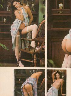 Обнажённая Деми Мур позирует для порнографического журнала Oui фото #16
