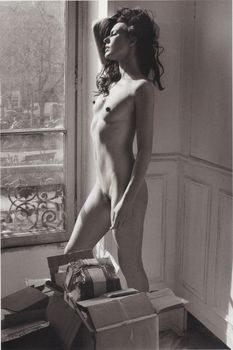 Милла Йовович обнажилась для журнала Purple фото #3