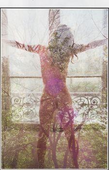 Милла Йовович обнажилась для журнала Purple фото #10