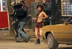 Холли Берри топлесс на съёмках «Фрэнки и Элис» фото #2