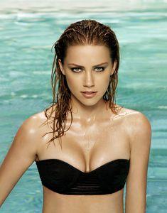 Сексуальная фотосессия Эмбер Хёрд для Maxim фото #4