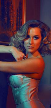Эротическая фотосессия Алексы Веги в журнале Bello фото #3