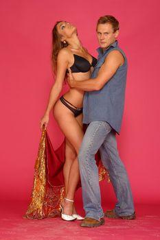 Сексуальная Алена Водонаева в белье на фотосессии фото #8
