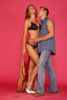 Сексуальная Алена Водонаева в белье на фотосессии фото #9