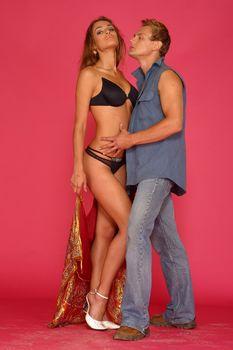 Сексуальная Алена Водонаева в белье на фотосессии фото #10