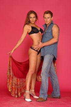 Сексуальная Алена Водонаева в белье на фотосессии фото #11