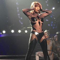 Эротический наряд Бритни Спирс во время выступления в Лас-Вегасе фото #3