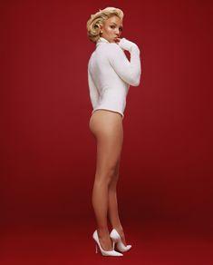Красивая Бритни Спирс без трусиков для Esquire фото #1