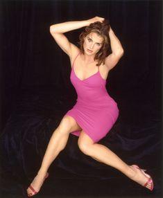 Очень красивая Брук Шилдс в возбуждающем платье фото #1