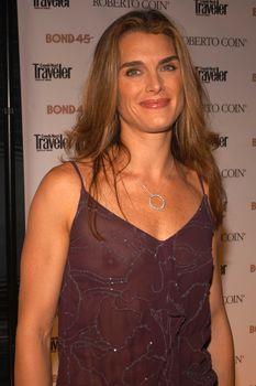 Красивая Брук Шилдс засветила грудь в прозрачном платье фото #3
