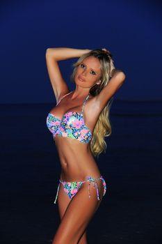 Красотка Дана Борисова в бикини на берегах Египта фото #1
