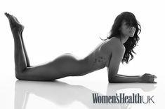 Полностью обнажённая Зои Салдана в британском журнале Women's Health фото #4