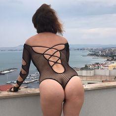 Обнажённая Наталья Штурм в прозрачном белье позирует для Instagram фото #6