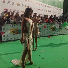Откровенный наряд Анны Седоковой на вручении премии «Муз-ТВ» фото #13