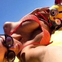 Селфи пышногрудой Анны Седоковой из Instagram фото #26