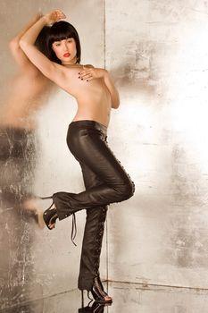 Сексуальная Саша Грей обнажилась для горячих фото фото #3