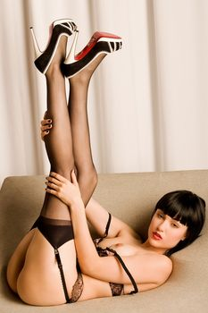 Сексуальная Саша Грей обнажилась для горячих фото фото #11